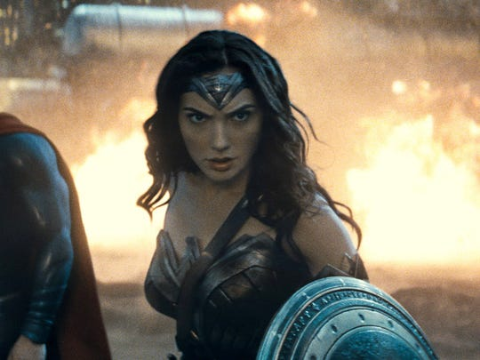 "Gal Gadot is Wonder Woman in ""Batman v Superman: Dawn of Justice."""