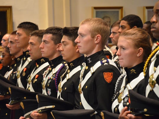 Marion Military Institute cadets.