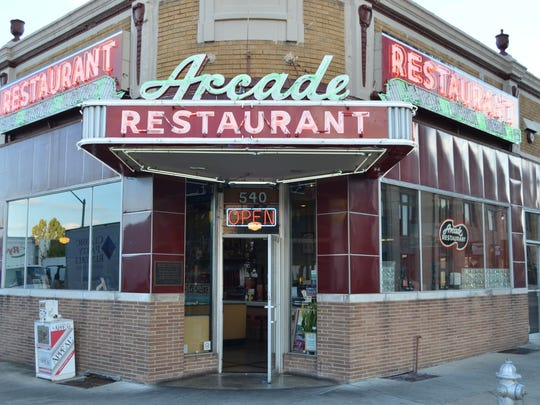 The Arcade Restaurant has stood at the corner of South