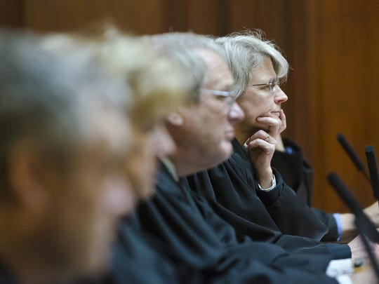 Vermont Supreme Court justices listen in Montpelier