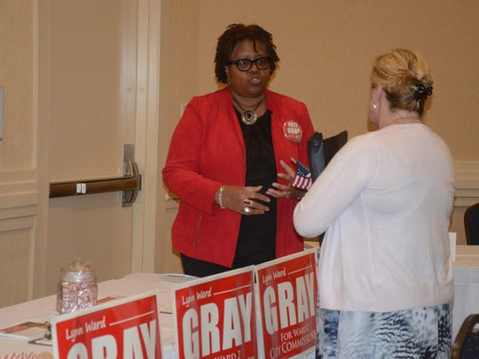 Lynn Ward Gray said residents still care about issues.