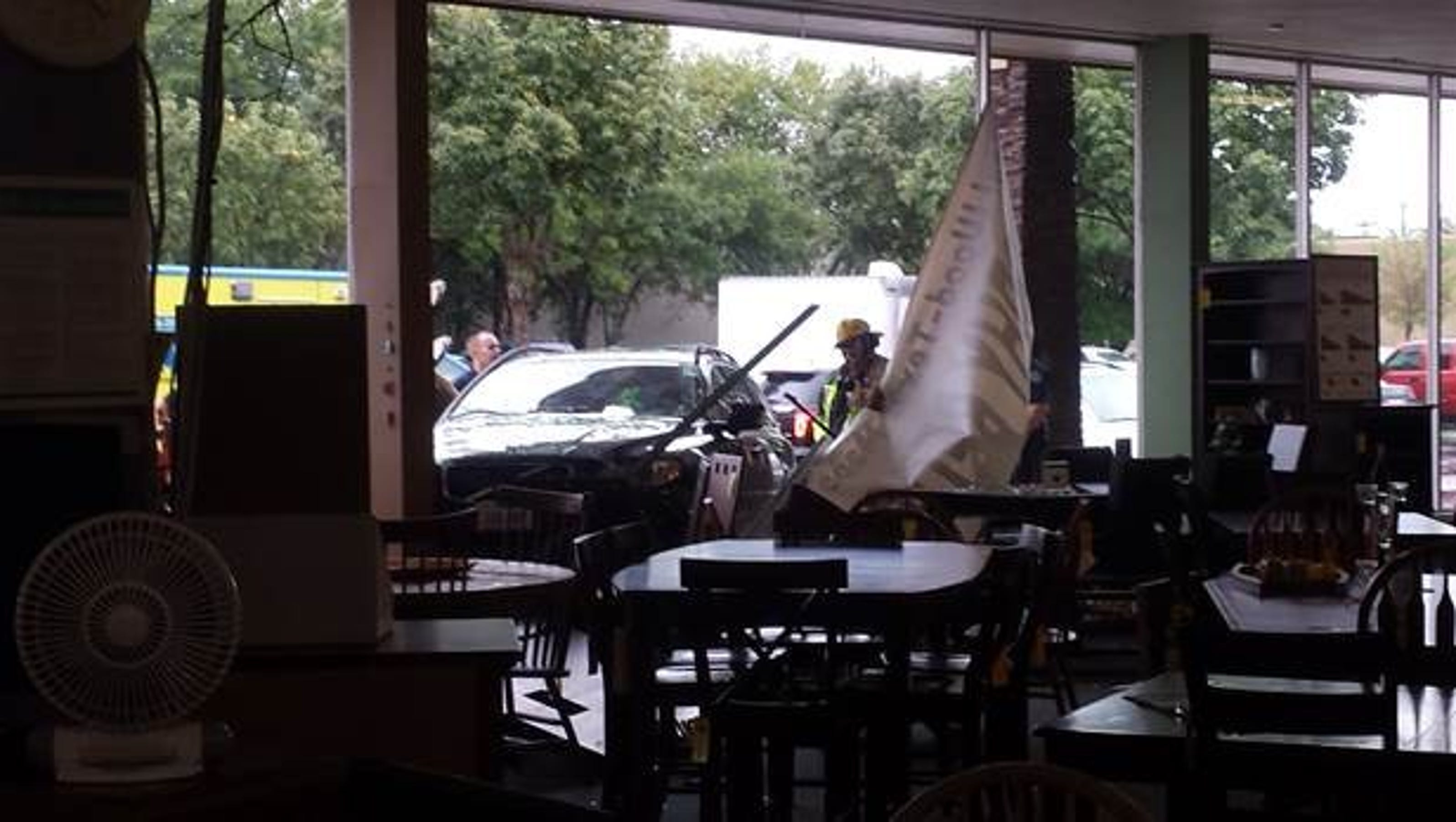 Woman Crashes Car Into North Austin Furniture Store