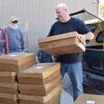 Packaged venison donated from local hunters will be used to feed those in need.