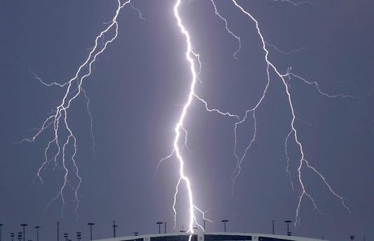 tarmac thunderstorm