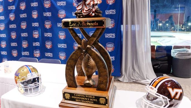 Tulsa and Virginia Tech are coming to town to compete for the Camping World Independence Bowl championship.