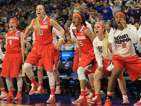 NCAA Syracuse South Carolina Basketball