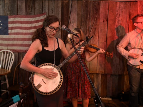 G. Burns Jug Band perform at Kimbros in Franklin on