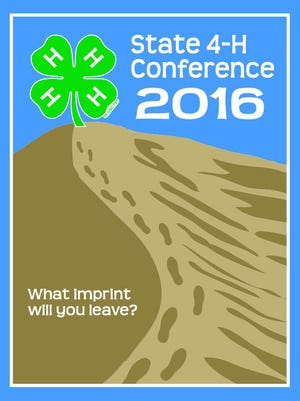 The image used of the poster for the 93rd annual 4-H State Conference at NMSU, July 11-14.