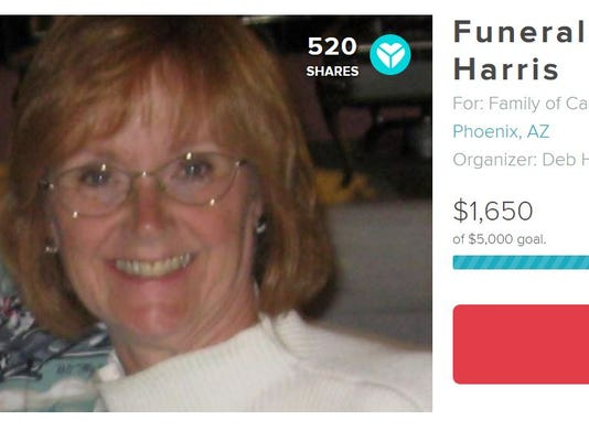 YouCaring page for Carol Harris