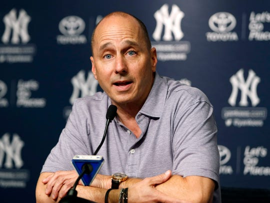 Yankees general manager Brian Cashman.
