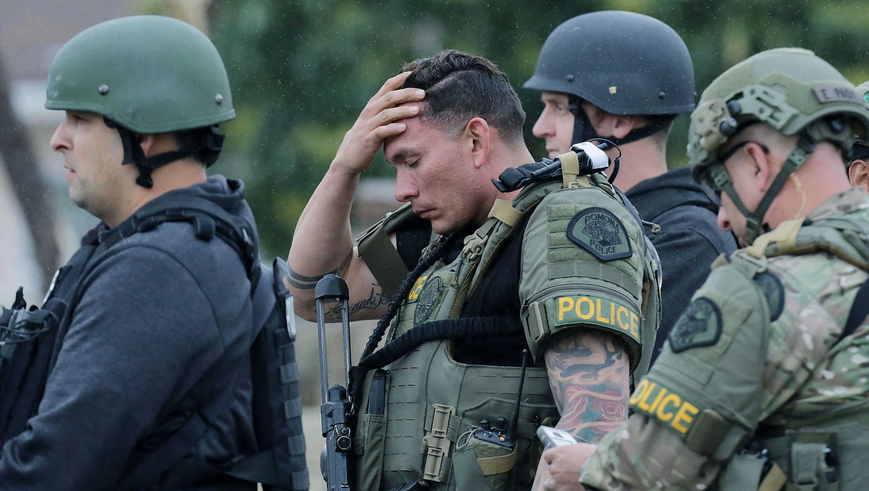 Slain california officer identified as gunman arrested - Police officer in california ...