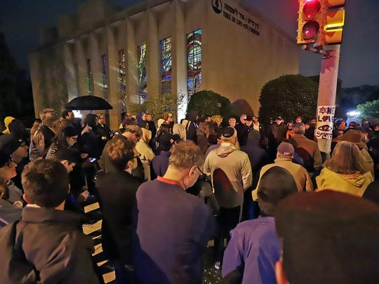 Synagogue Shooting California Pittsburgh
