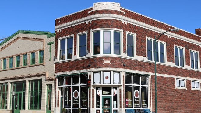 Paisley Pear Wine Bar, Bistro and Market is located at 1100 Main St. in Hays.