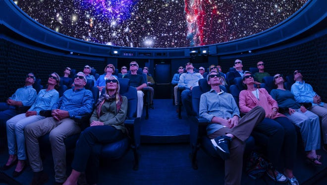 The Explorers' Dome on Viking Cruises' Viking Orion will use the latest inplanetarium technology to offer shows about space and exploration.