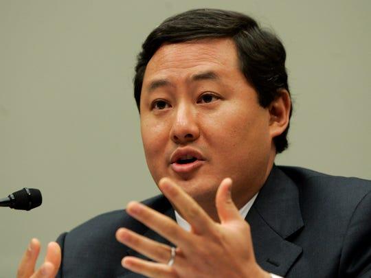 John Yoo, a law professor at the University of California