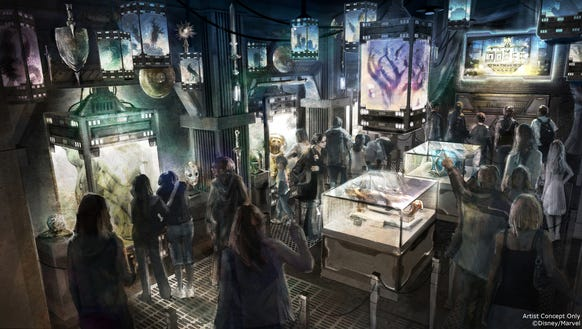 In the ride opening next summer at Disneyland, guests