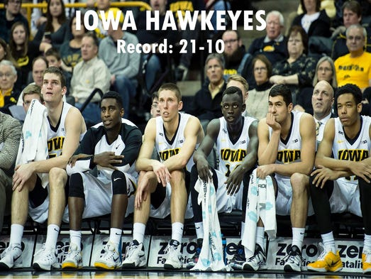 Iowa men's basketball playmakers