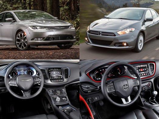 Chrysler 200 Dodge Dart Go Out With Big Deals