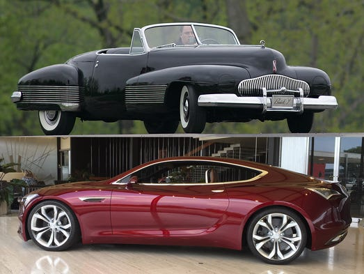 striking concepts define buick s past and future. Black Bedroom Furniture Sets. Home Design Ideas