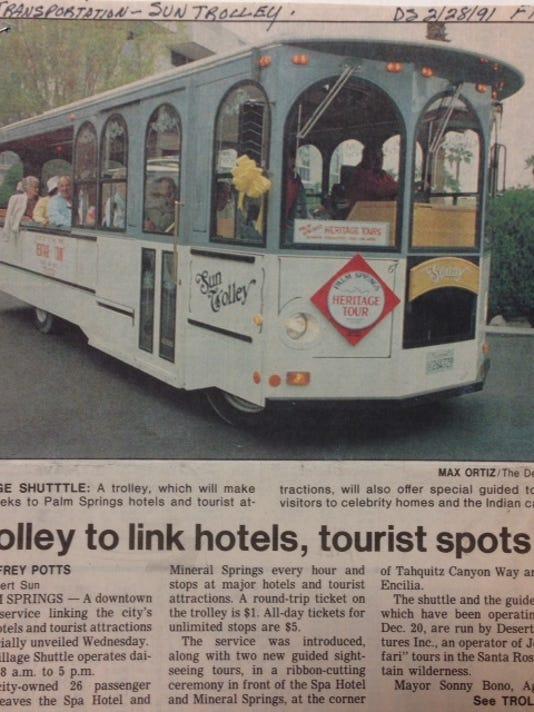 Trolley TDS photo