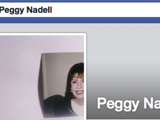 The Facebook page of Peggy Nadell, who was found slain in her Valley Cottage home.