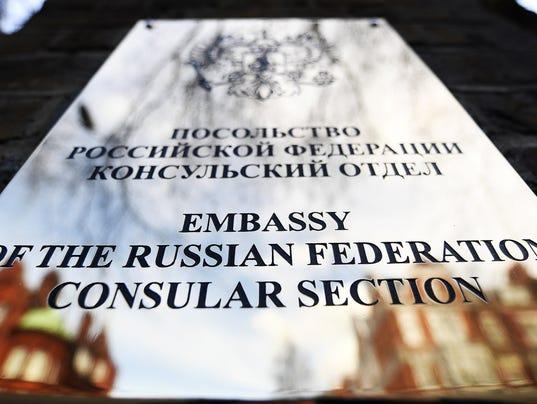 EPA BRITAIN RUSSIA POISONING DIPLOMATS CLJ ESPIONAGE & INTELLIGENCE CRIME GBR