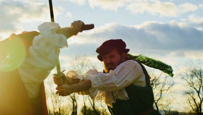"Orangemite Studios presents ""The Two Noble Kinsmen,"" May 25-June 2."