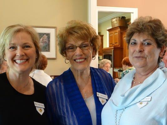 Cindy Shaw, Lois Hoover, Gretchen Hamel.JPG