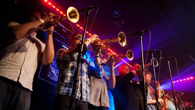 No BS! Brass Band performs Saturday in Norwich.