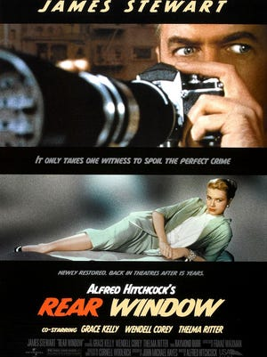 "The Rialto Theater, 327 S. Commercial St., Aransas Pass, presents its Fab Friday film ""Rear Window"" at 7:30 p.m. Friday, April 28. Happy Hour begins at 5 p.m. Cost: $3. Information: 361-758-0383."