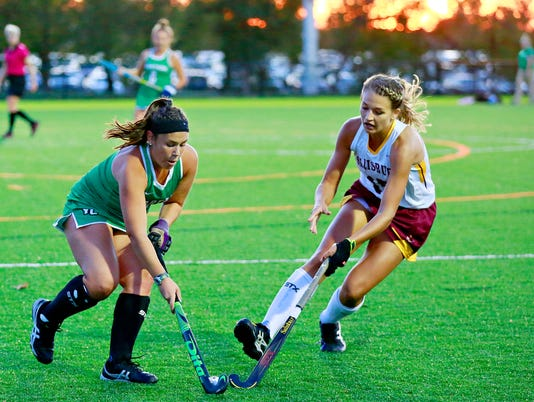 Salisbury vs York College field hockey