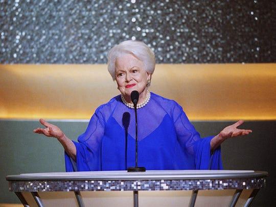 Former Best Actress Oscar winner Olivia de Havilland