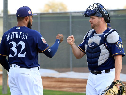 Stephen Vogt, Jeremy Jeffress