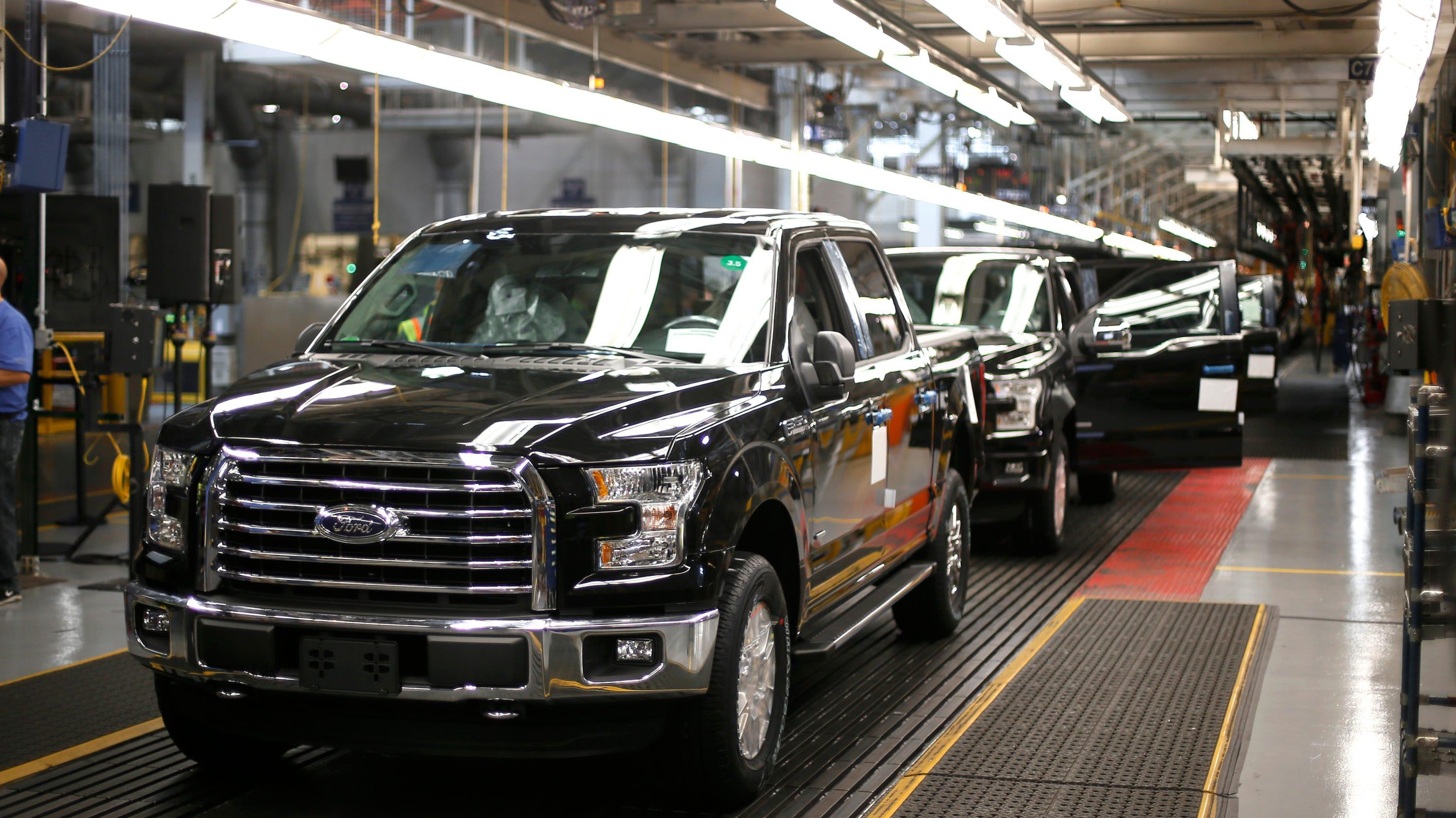 louisville ford plant anticipates aluminum truck jobs. Black Bedroom Furniture Sets. Home Design Ideas