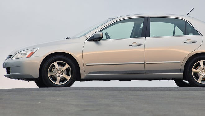 The airbag deployment in a single 2005 Honda Accord like this one added up to 1 million more cars to Honda's recall