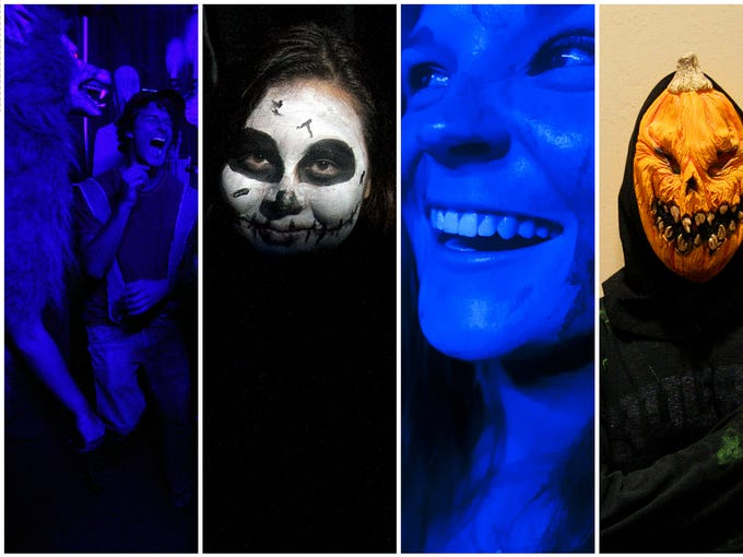 Scenes from Zombiefest on Wednesday at FGCU. The annual