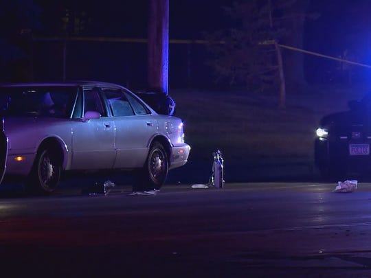 Philando Castile, 32, was fatally shot by a police officer in Falcon Heights, Minn., on Wednesday, July 6, 2016, during a traffic stop, allegedly regarding a bad taillight on the car seen here.