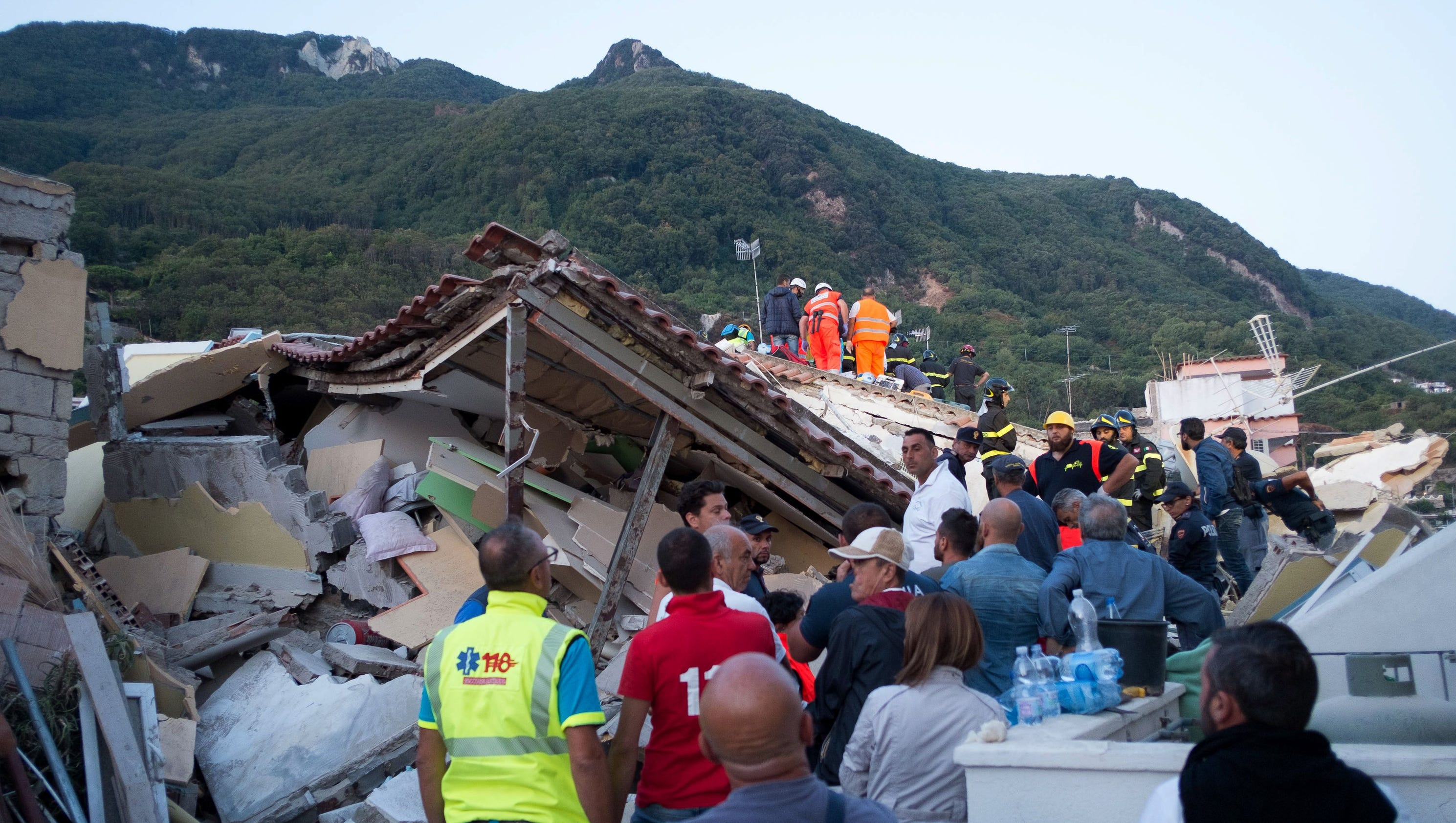 Italy earthquake: 1 dead, 2 kids rescued from rubble