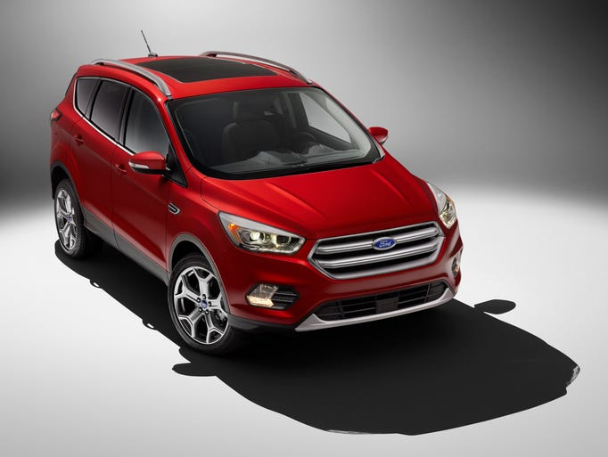 The fourth-generation 2017 Ford Escape will be unveiled