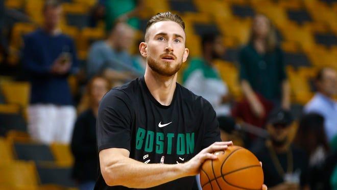 Boston Celtics' Gordon Hayward missed all but a few moments of the 2017-18 season.