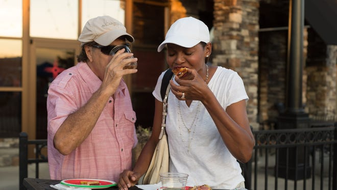 The annual Taste of Hendersonville was held Thursday, Sept. 8, 2016 at the Streets of Indian Lake.
