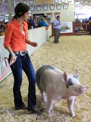 It wouldn't be the fair without all the livestock exhibits and demonstrations.