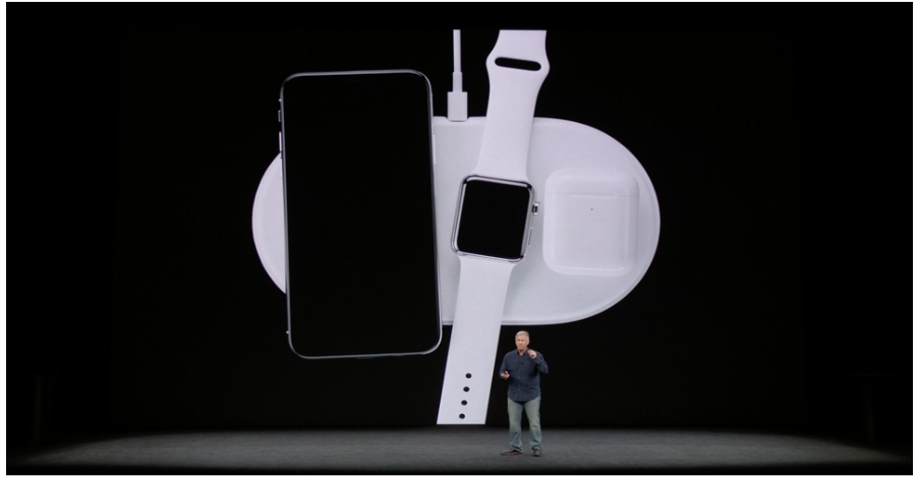 iPhone 8, iPhone X wireless charging with Qi, AirPower