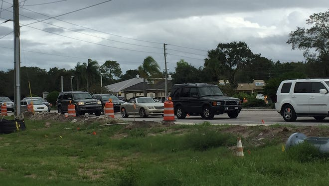 Traffic is at a standstill on Wickham Road in Suntree and Viera after a crash near I-95.