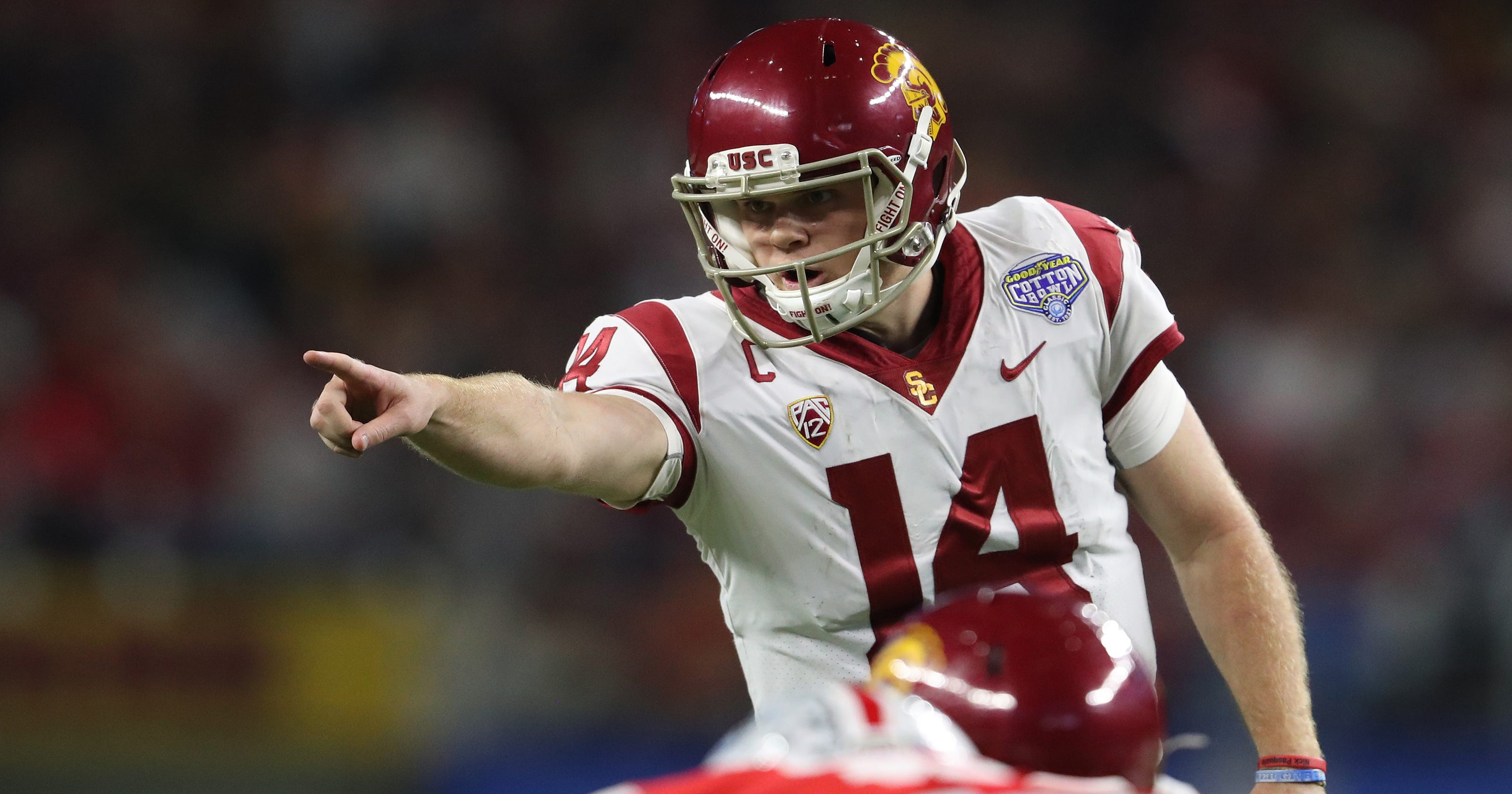 check out 07bd4 2fee4 Sam Darnold selected by NY Jets with No. 3 pick in the NFL Draft