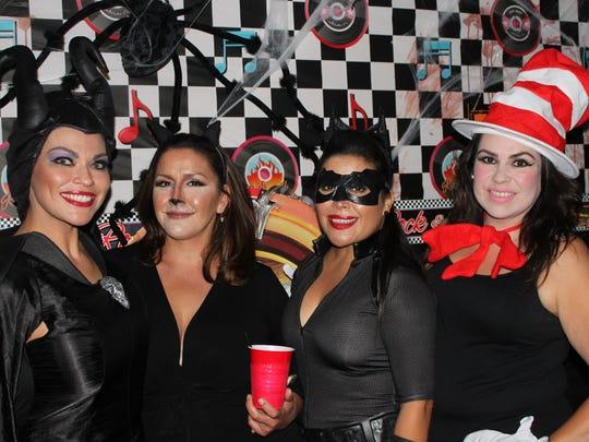 Denise Cadena, left, Geraldine Kriegbaum, Martha Maldonado and Belinda Duran.