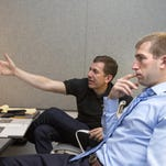 Former Purdue forward Robbie Hummel recently participated in the NBPA's Sportscaster U program in Syracuse, N.Y. The program is one of several in which the union helps its players prepare for life after basketball.