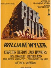 """""""Ben-Hur"""" will be shown as a part of the Saenger Theatre's 2016 Classic Movie Series."""