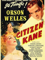 """""""Citizen Kane"""" will be shown as a part of the Saenger Theatre's 2016 Classic Movie Series."""