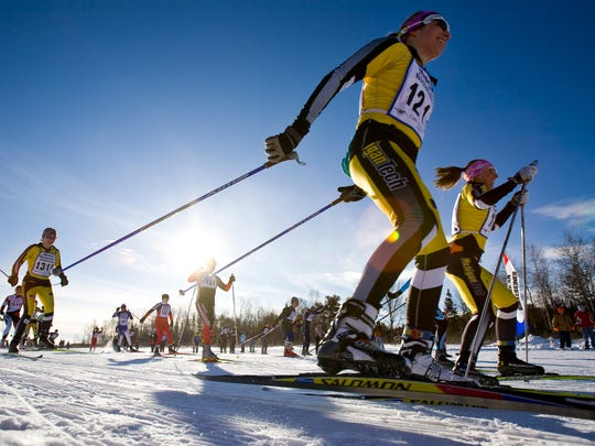 The American Birkebeiner, held on the Birkie Trail between Cable and Hayward in northern Wisconsin, is North America's largest cross-country ski marathon.